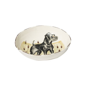 Vietri Bowls Pasta Bowl - Black Lab