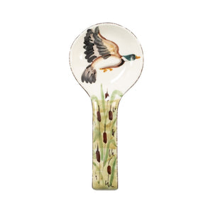 Vietri Serving Pieces Mallard Spoon Rest (wdl-7891)