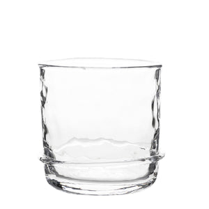 "Juliska Glassware Carine - Double Old Fashioned Clear 3.5""H (B668/C)"