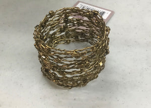 Saro Napkin Rings Metal Bead/wire (nr030.s)