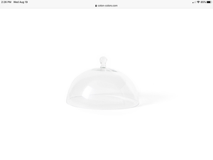 Coton Colors large glass dome