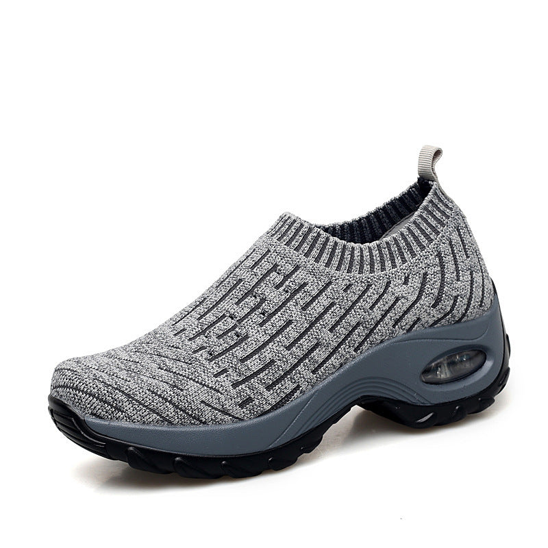 Air cushion sports shoes