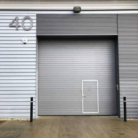 Outside of the White Possum UK warehouse