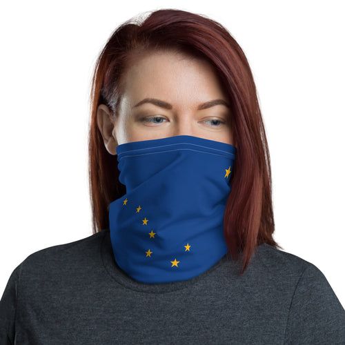 Alaska Flag Face Mask - Must Read Alaska