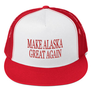 Make Alaska Great Again (MAGA) Trucker Cap - Must Read Alaska