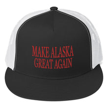Load image into Gallery viewer, Make Alaska Great Again (MAGA) Trucker Cap - Must Read Alaska