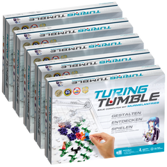 Turing Tumble, deutsche Version, 5-er Pack