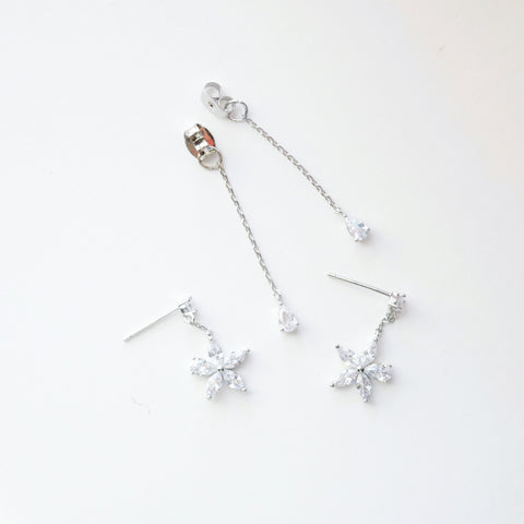 Made in Korea Earrings Korean Anting Cubic Zirconia Bride Bridal Dinner 925 Sterling Silver Fashion Costume Jewellery Online Malaysia Shopping Trendy No Piercing Special Perfect Gift From Heart For Your Loved One Accessory Gift for her Rose Gold Korea Made Earrings Korean Jewellery Jewelry Local Brand in Malaysia Cubic Zirconia Dainty Delicate Minimalist Jewellery Jewelry Bride Clip On Earrings Silver Christmas Gift Set Xmas Silver snowman wreath candy cane present gift for her gift ideas 2 way earrings