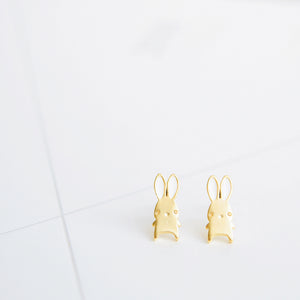 Gold Bibi Bunny Earrings