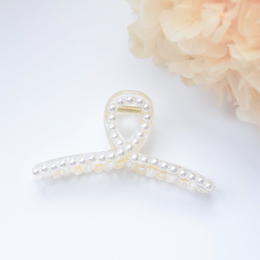 Hair Barrette Jewellery Daily Wear Pearl Hair Clip Trend For Her Hair Pin Hairclip Local Brand In Malaysia hair claw hair clip made in korea