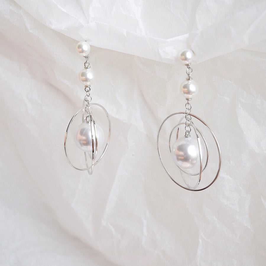 Silver Odysseia Earrings
