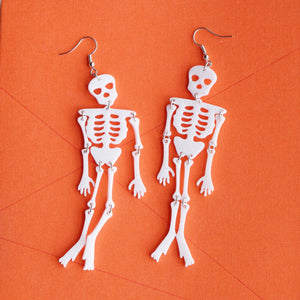 Reaper the Skeleton Earrings