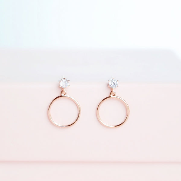 Rose Gold Out of Love Earrings