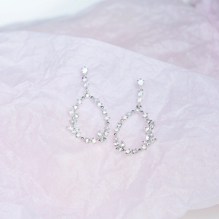 Silver Mesmerise Earrings