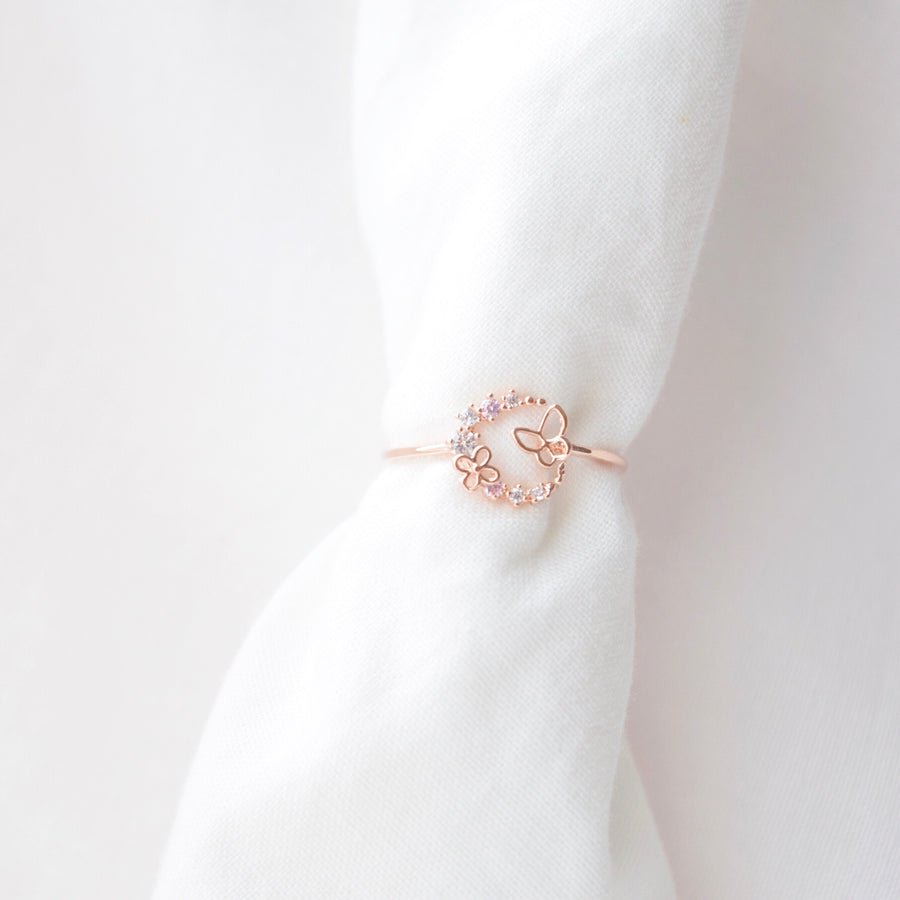 Rose Gold Boon Yi 분이 Ring