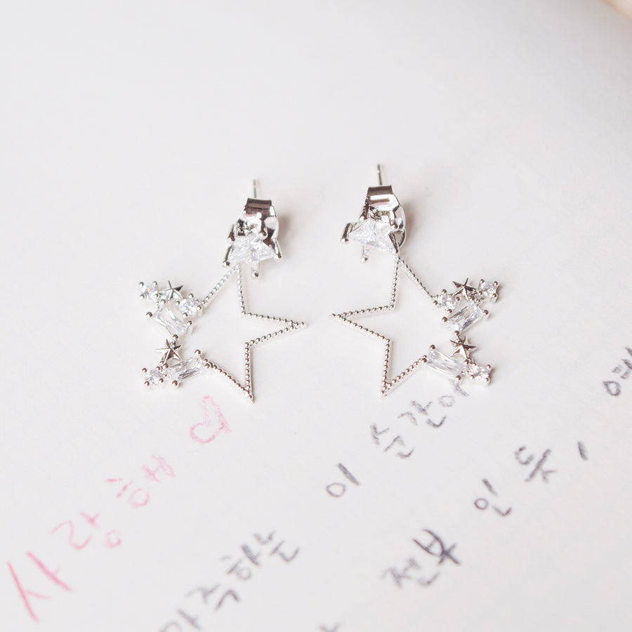 Silver Korea Made Earrings 925 Silver
