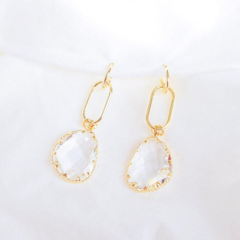 Gold Arianna Earrings