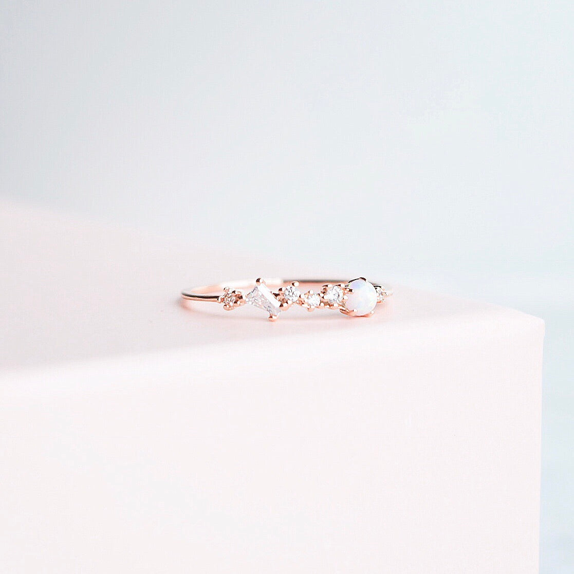Rose Gold Eranthus Ring