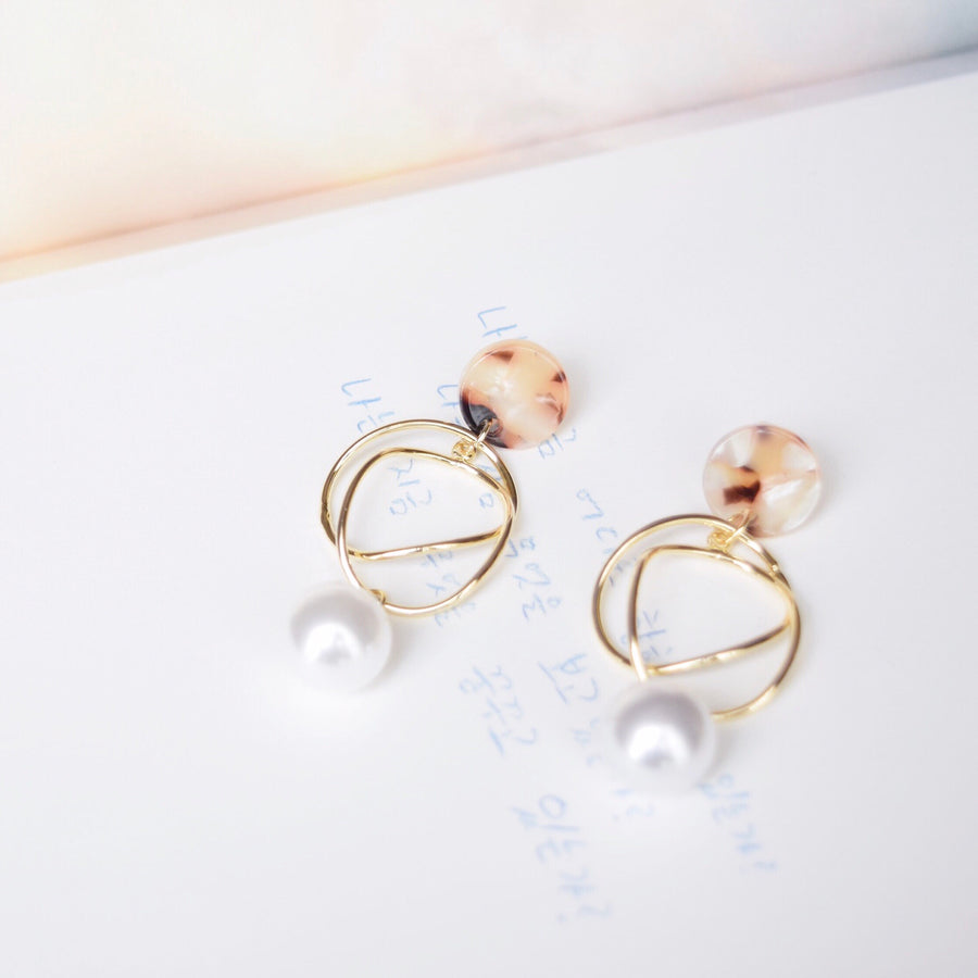 Made in Korea Earrings Korean Anting Pearl Bride Bridal Dinner 925 Sterling Silver Accessory Fashion Fancy Stylish Jewellery Online Malaysia Shopping Trendy Accessories Daily Wear Jewelry Dainty Minimalist Delicate Clip On Earrings No Piercing Special Perfect Gift From Heart For Your Loved One