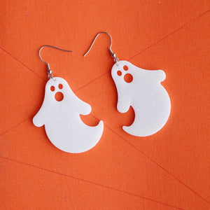 Boo Ghost Earrings