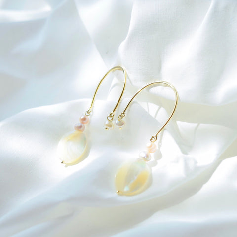 Gold Noelani Earrings