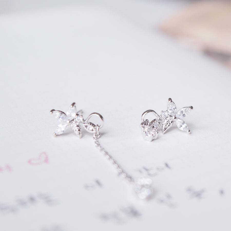Silver Korea Made Earrings Local Brand in Malaysia