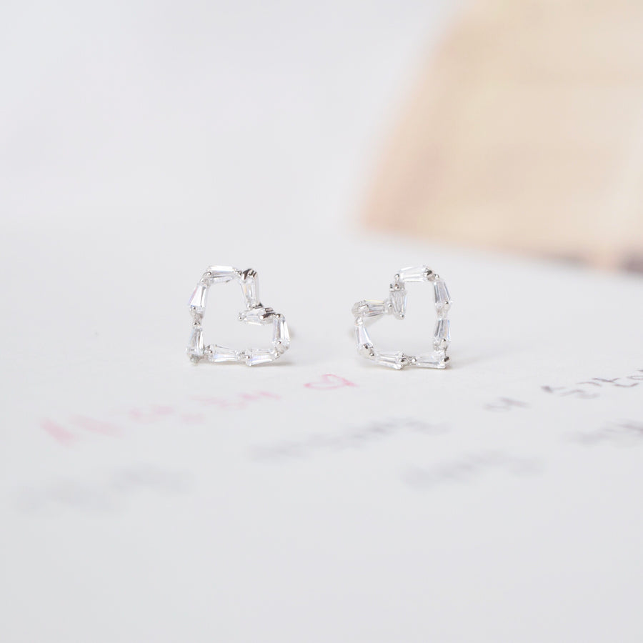 Silver Love n Co Earrings
