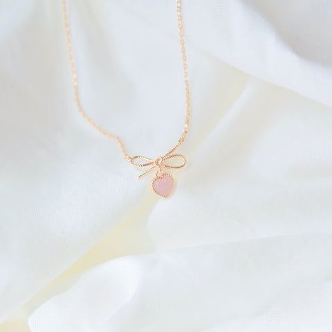 Opalescent Viola Necklace