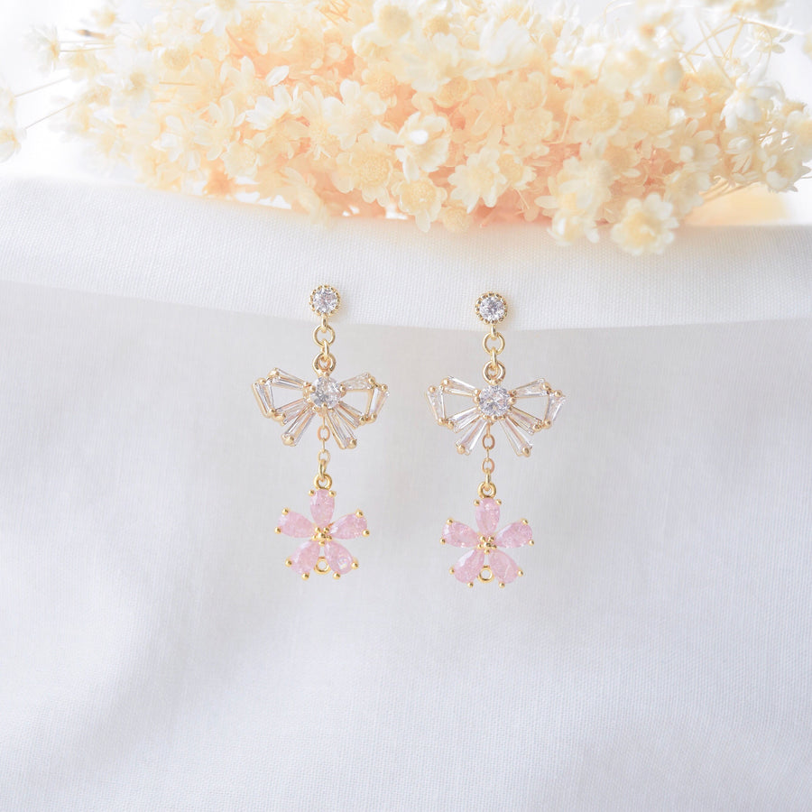 Made in Korea Earrings Korean Anting Handmade in Malaysia Cubic Zirconia Bride Bridal Dinner 925 Sterling Silver Accessory Fashion Fancy Stylish Costume Jewellery Online Malaysia Shopping Trendy Accessories Daily Wear Jewelry Dainty Minimalist Delicate Clip On Earrings No Piercing Special Perfect Gift From Heart For Your Loved One Dreams Comes True