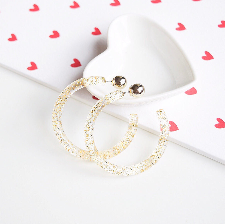 Made in Korea Earrings Korean Anting Gold Bride Bridal Dinner Titanium Accessory Fashion Fancy Stylish Jewellery Online Malaysia Shopping Trendy Accessories Daily Wear Jewelry Dainty Minimalist Delicate Clip On Earrings No Piercing Special Perfect Gift From Heart For Your Loved One