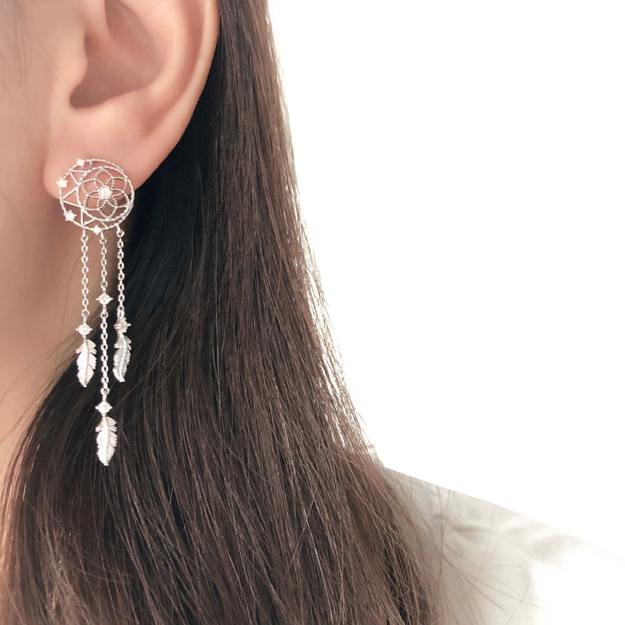 Made in Korea Earrings Korean Anting Cubic Zirconia Bride Bridal Dinner 925 Sterling Silver Fashion Costume Jewellery Online Malaysia Shopping Trendy No Piercing Special Perfect Gift From Heart For Your Loved One Accessory Gift for her Rose Gold Korea Made Earrings Korean Jewellery Jewelry Local Brand in Malaysia Cubic Zirconia Dainty Delicate Minimalist Jewellery Jewelry Bride Clip On Earrings Silver Christmas Gift Set Xmas Silver snowman w present gift for her gift ideas dreamcatcher