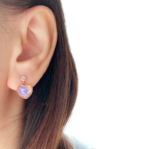 Rose Gold Made in Korea Earrings Korean Anting Cubic Zirconia Jewellery Malaysia Instagram 925 Sterling Silver hypoallergenic Instagram gift shops Jewellery Online Malaysia Shopping No Piercing Perfect Gift special gift Loved One Online jewellery Malaysia Gift for her Rose Gold Korea Made Earrings Korean Jewellery Jewelry Cubic Zirconia Dainty Delicate Minimalist Jewellery Jewelry Bride Clip On Earrings Silver Gift Set present gift for her gift ideas daily wear earrings spring earrings birthday gift