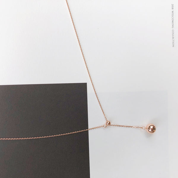 Rose Gold Beverly Necklace