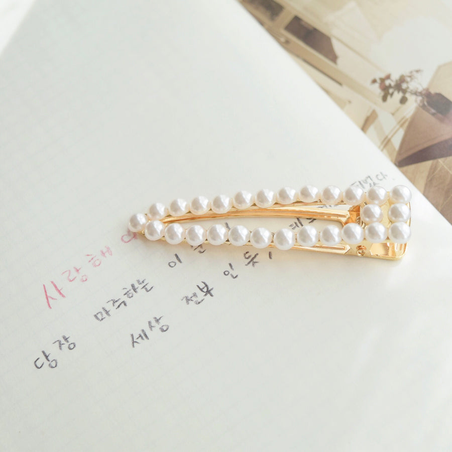 Hair Barrette Jewellery Daily Wear Pearl Hair Clip Accessories Online Malaysia Shopping Hair Pin Hairclip