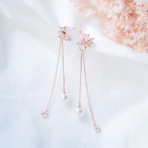 Opalescent Hydrangea 2.0 Earrings