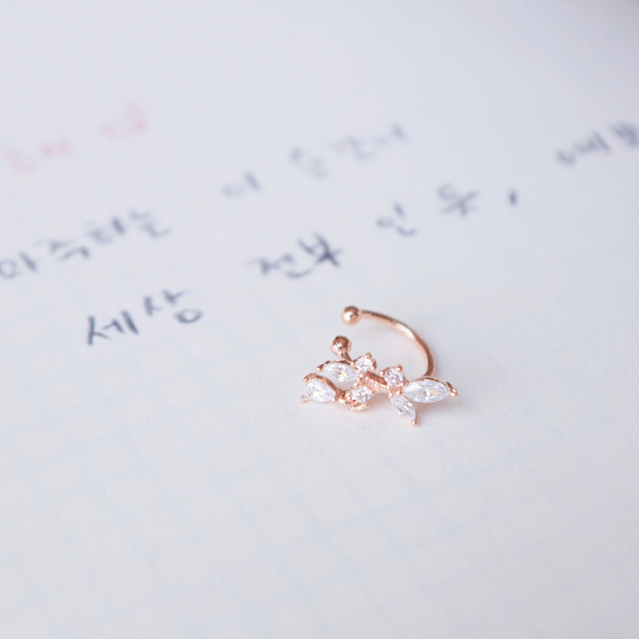Rose Gold Made in Korea Earrings Korean Anting Cubic Zirconia Jewellery Malaysia Instagram 925 Sterling Silver hypoallergenic Instagram gift shops Jewellery Online Malaysia Shopping No Piercing Perfect Gift special gift Loved One Online jewellery Malaysia Gift for her Rose Gold Korea Made Earrings Korean Jewellery Jewelry Local Brand in Malaysia Cubic Zirconia Dainty Delicate Minimalist Jewellery Jewelry Bride Clip On Earrings Silver Gift Set present gift for her gift ideas earcuff ear cuff