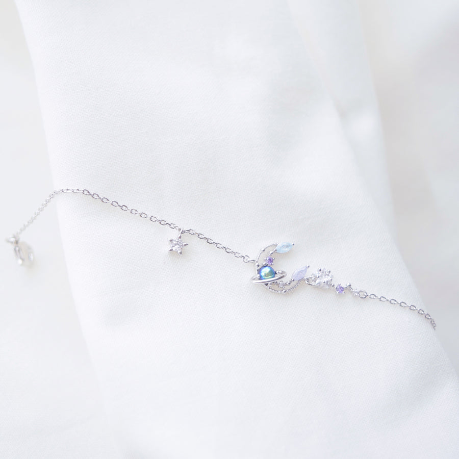 Made in Korea Bracelet Korean Gelang Tangan Cubic Zirconia Bride Bridal Dinner 925 Sterling Silver Rhodium Plated Accessory Fashion Fancy Stylish Jewellery Online Malaysia Shopping Trendy Accessories Daily Wear Jewelry Dainty Minimalist Delicate Special Perfect Gift From Heart For Your Loved One