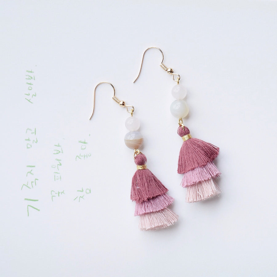 Empress Fuca Tassel Earrings