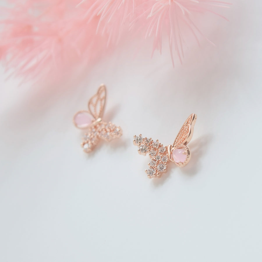 Rose Gold Made in Korea Earrings Korean Anting Cubic Zirconia Bride Bridal Dinner 925 Sterling Silver hypoallergenic Instagram gift shops Jewellery Online Malaysia Shopping No Piercing Perfect Gift From Heart For Your Loved One Online jewellery Malaysia Gift for her Rose Gold Korea Made Earrings Korean Jewellery Jewelry Local Brand in Malaysia Cubic Zirconia Dainty Delicate Minimalist Jewellery Jewelry Bride Clip On Earrings Silver Christmas Gift Set butterfly present gift for her gift ideas