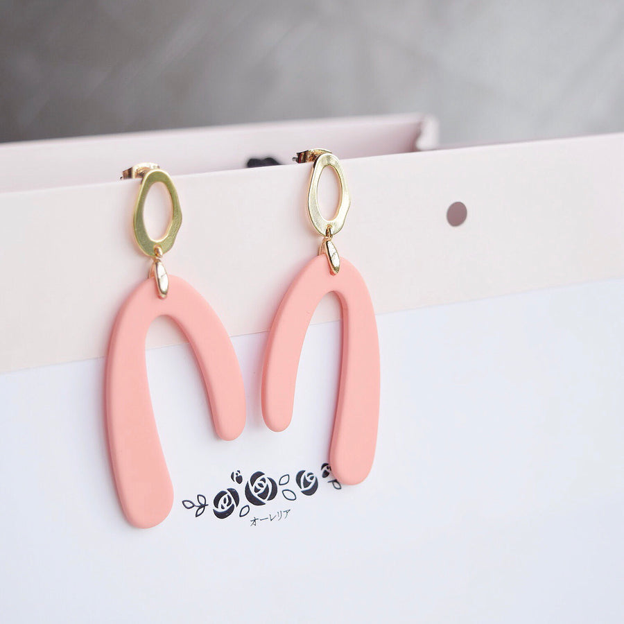 Korea Made Earrings Local Brand in Malaysia Dainty Minimalist Cubic Zirconia