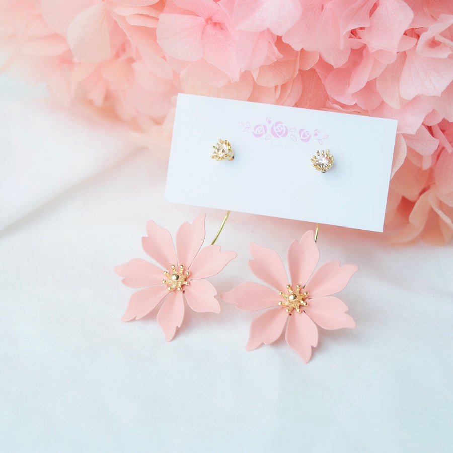 Made in Korea Earrings Korean Anting Cubic Zirconia Bride Bridal Dinner Titanium Accessory Fashion Fancy Stylish Costume Jewellery Online Malaysia Shopping Trendy Accessories Daily Wear Jewelry Dainty Minimalist Delicate Special Perfect Gift From Heart For Your Loved One