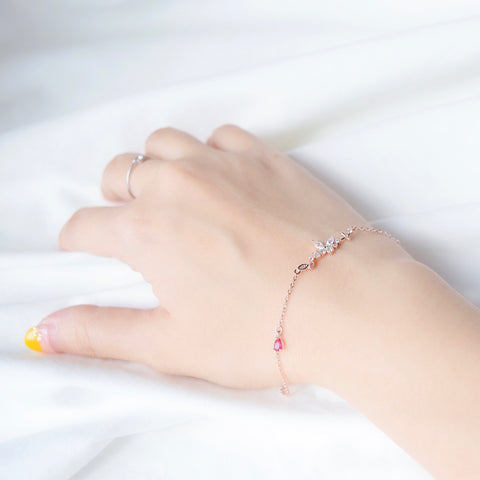 Made in Korea Bracelet Korean Gelang Tangan Cubic Zirconia Bride Bridal Dinner Rhodium Plated Accessory Fashion Fancy Stylish Jewellery Online Malaysia Shopping Trendy Accessories Daily Wear Jewelry Dainty Minimalist Delicate Special Perfect Gift From Heart For Your Loved One