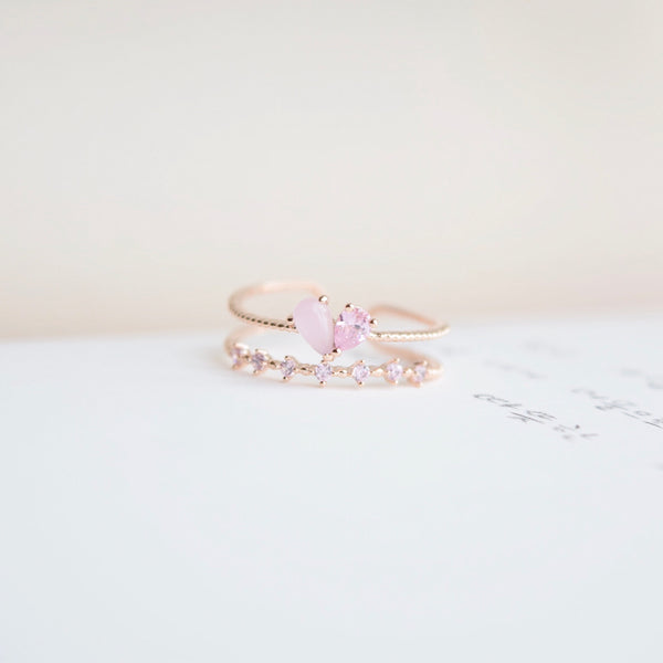 Opalescent Hyacinth Ring