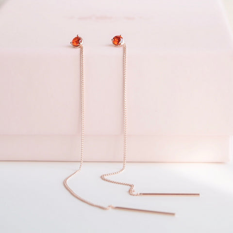 Rose Gold My Love Earrings