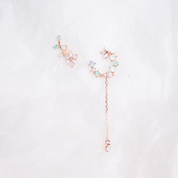 Rose Gold Quince Earrings