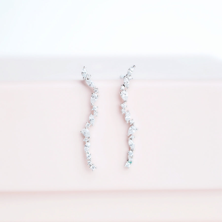 Silver Stand by You Earrings