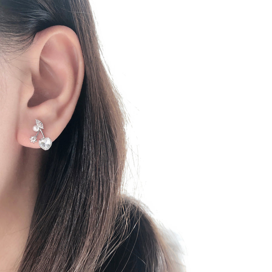 Rose Gold Made in Korea Earrings Korean Anting Cubic Zirconia Bride Bridal Dinner 925 Sterling Silver Fashion Costume Jewellery Online Malaysia Shopping Trendy No Piercing Special Perfect Gift From Heart For Your Loved One Accessory Gift for her Rose Gold Korea Made Earrings Korean Jewellery Jewelry Local Brand in Malaysia Cubic Zirconia Dainty Delicate Minimalist Jewellery Jewelry Bride Clip On Earrings Silver Christmas Gift Set Xmas Silver present gift for her gift ideas cny chinese new year