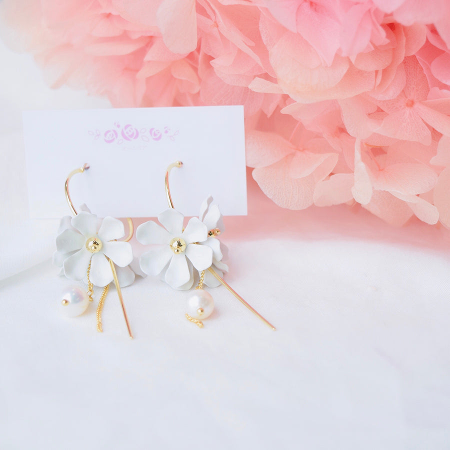 Made in Korea Earrings Korean Anting Bride Bridal Dinner Titanium Accessory Fashion Fancy Stylish Costume Jewellery Online Malaysia Shopping Trendy Accessories Daily Wear Jewelry Dainty Minimalist Delicate Special Perfect Gift From Heart For Your Loved One