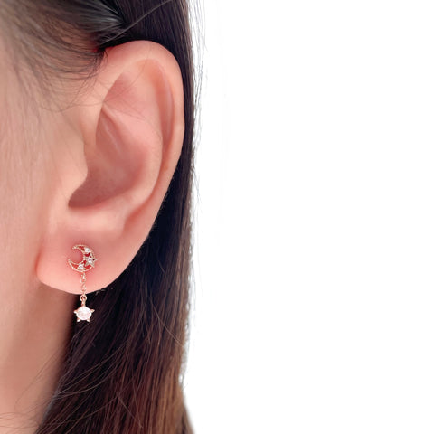 Made in Korea Earrings Korean Anting Cubic Zirconia Bride Bridal Dinner 925 Sterling Silver Fashion Costume Jewellery Online Malaysia Shopping Trendy No Piercing Special Perfect Gift From Heart For Your Loved One Accessory Gift for her Rose Gold Korea Made Earrings Korean Jewellery Jewelry Local Brand in Malaysia Cubic Zirconia Dainty Delicate Minimalist Jewellery Jewelry Bride Clip On Earrings Silver Christmas Gift Set Xmas Silver snowman wreath candy cane present gift for her gift ideas