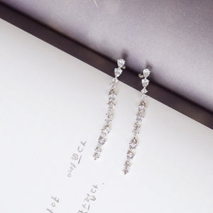 Silver Angelus Earrings